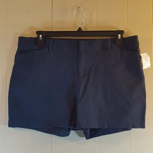 Attention Navy Blue Shorts